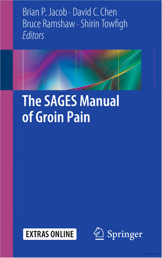 Book Cover, The SAGES Manual of Groin Pain